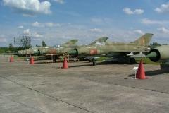 MiG 21 im Rothenburger Museum